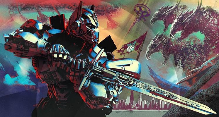 Seria Transformers po 17 zł na iTunes w 4K!