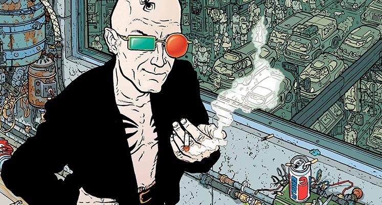 Transmetropolitan tom 1 - recenzja komiksu