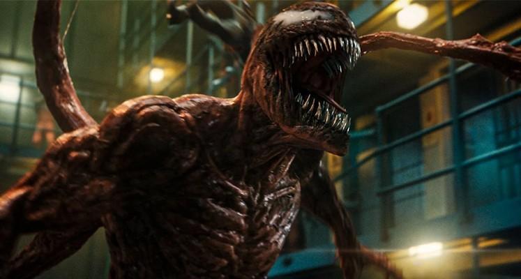 Venom kontra Carnage na nowym plakacie superbohaterskiego widowiska