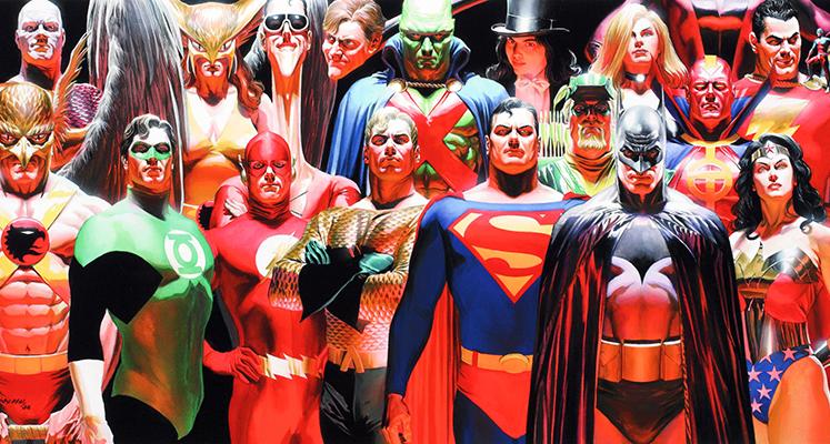 WKKDCC#20: JLA: Sprawiedliwość część 1 - prezentacja komiksu