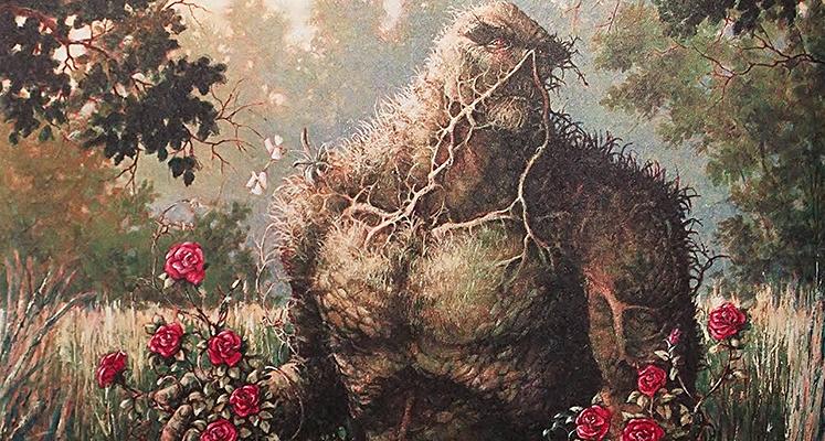 WKKDCC#66: Potwór z bagien: część 1 - prezentacja komiksu