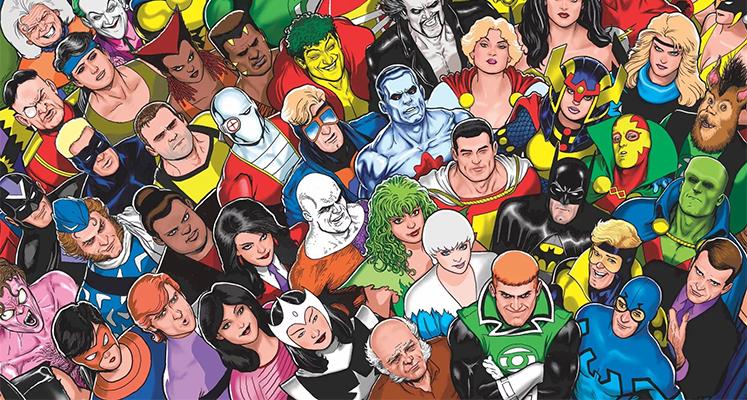 WKKDCC#71: Międzynarodowa Liga Sprawiedliwości część 1 - prezentacja komiksu