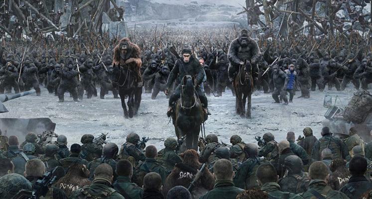 Wojna o planetę małp - recenzja filmu i wydania Blu-ray [2D, opakowanie plastikowe]