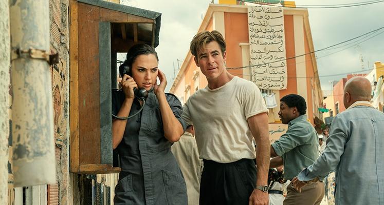 Wonder Woman i Steve Trevor na nowym zdjęciu