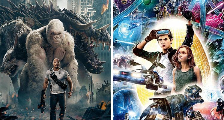 Wyniki sprzedaży 4K UHD, 3D, Blu-ray i DVD - Rampage i Player One najlepsi w lipcu