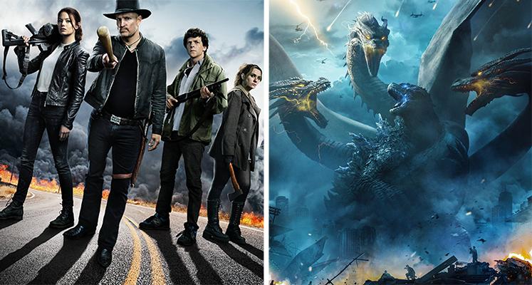 """Filmowe premiery tygodnia 14.10-20.10: """"Zombieland 2"""", """"Godzilla II"""" i inne"""