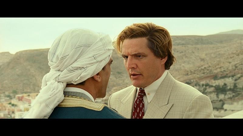 "Pedro Pascal jako Maxwell Lord w filmie ""Wonder Woman 1984"""
