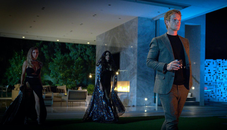 Sydney Sweeney jako Eva, Megan Fox jako Grace i Alfie Allen jako Victor.