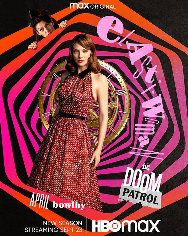 """Doom Patrol"" sezon 3 plakat Elastic Women"