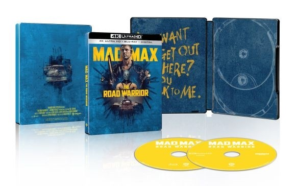 """Mad Max pod Kopułą Gromu"" steelbook 4K UHD"