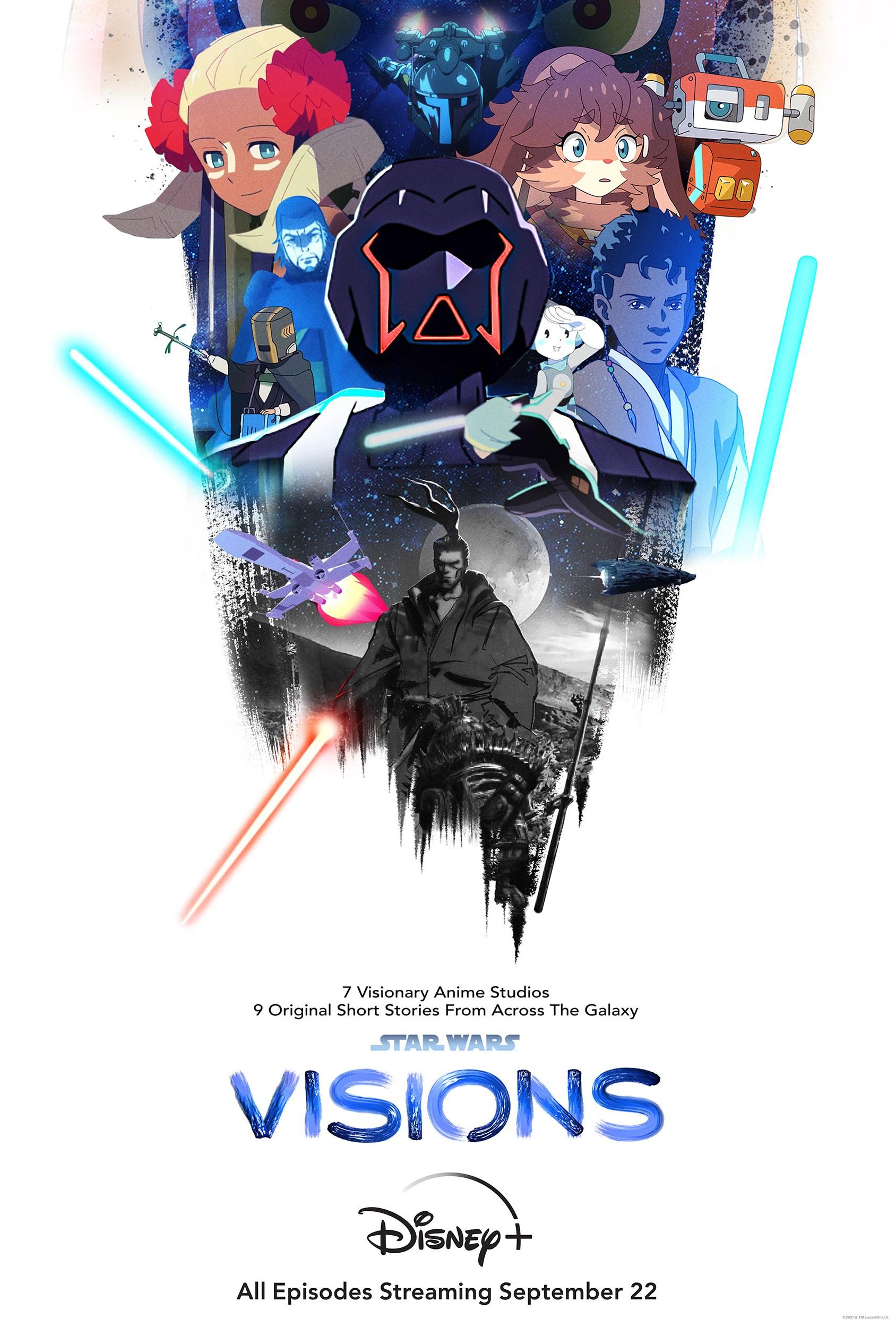 Star Wars: Visions plakat