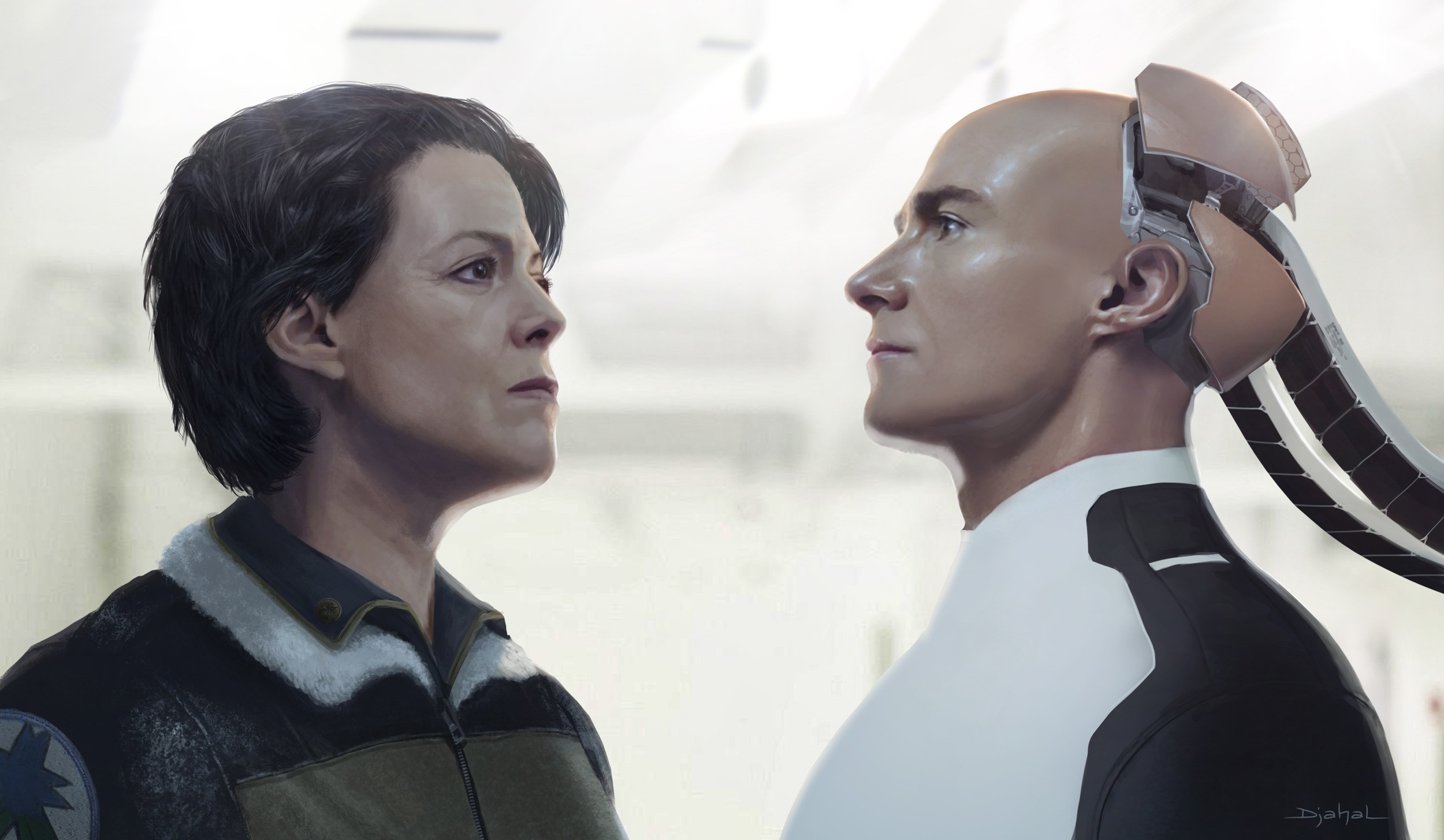 """Ripley i Hicks na nowych grafikach koncepcyjnych z niezrealizowanego """"Obcego 5"""""""