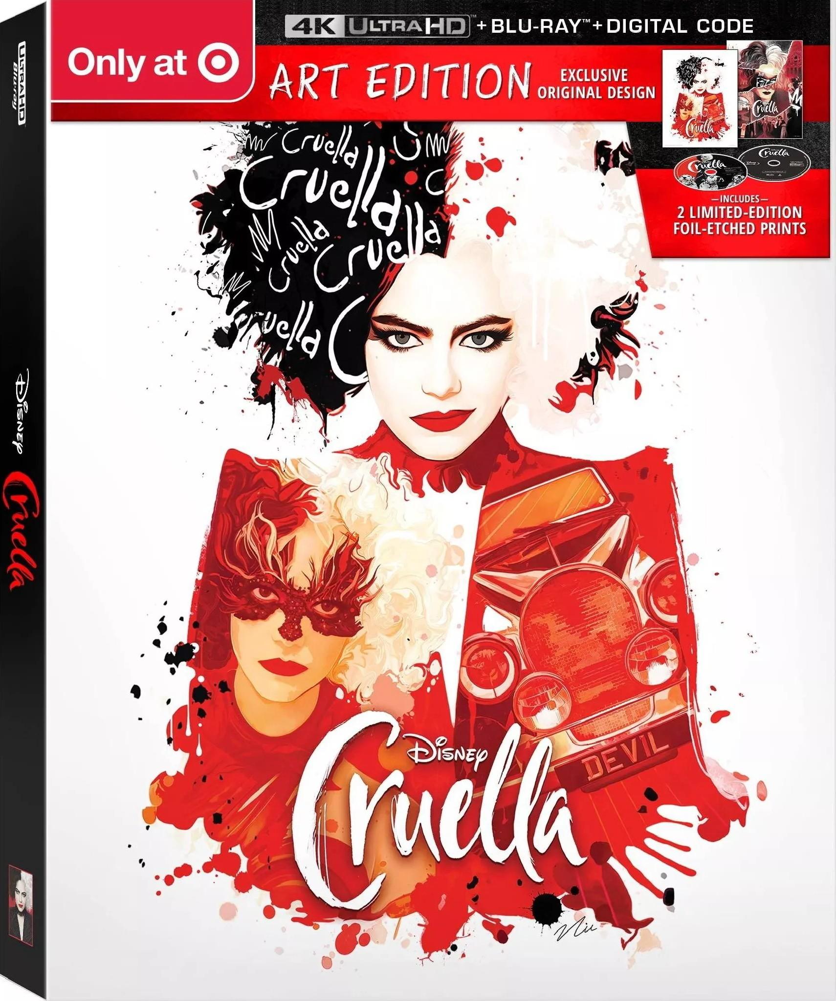Cruella wydanie 4K UHD