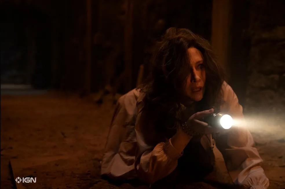"""Vera Farmiga jako Lorraine Warren w filmie """"Obecność 3: Na rozkaz diabła"""""""