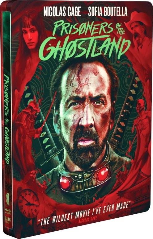 Prisoners of the Ghostland 4K UHD steelbook