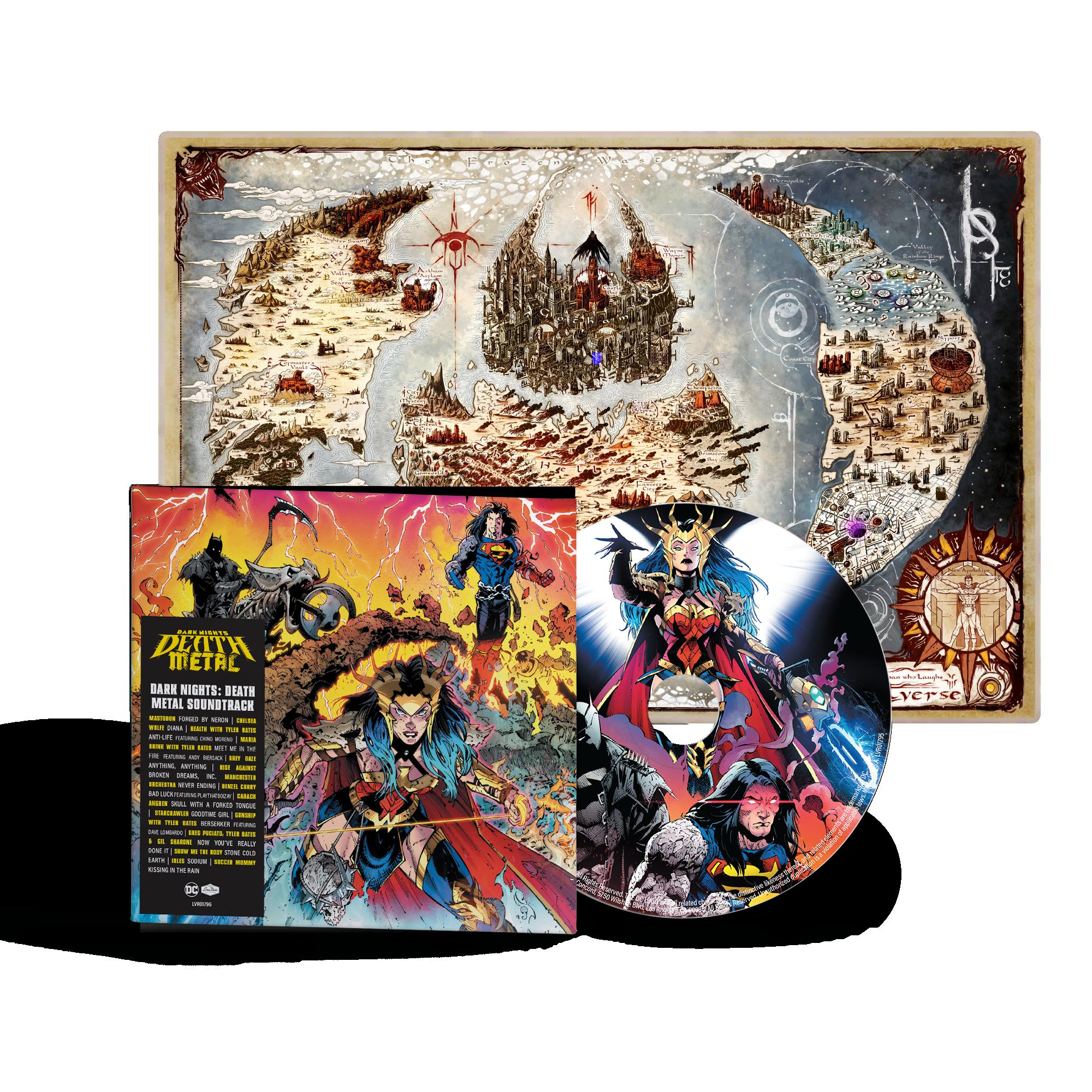 "Soundtrack do ""Dark Nights: Death Metal"""