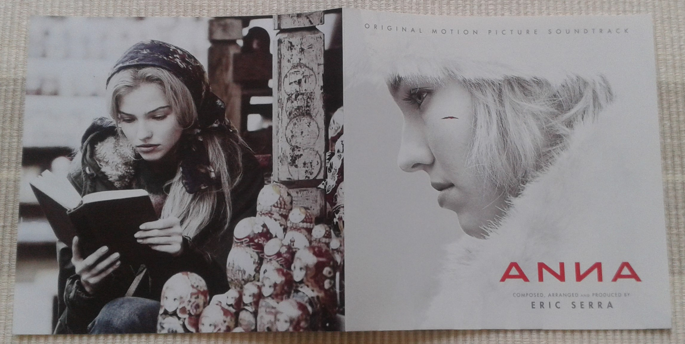 Anna - soundtrack (booklet 1)