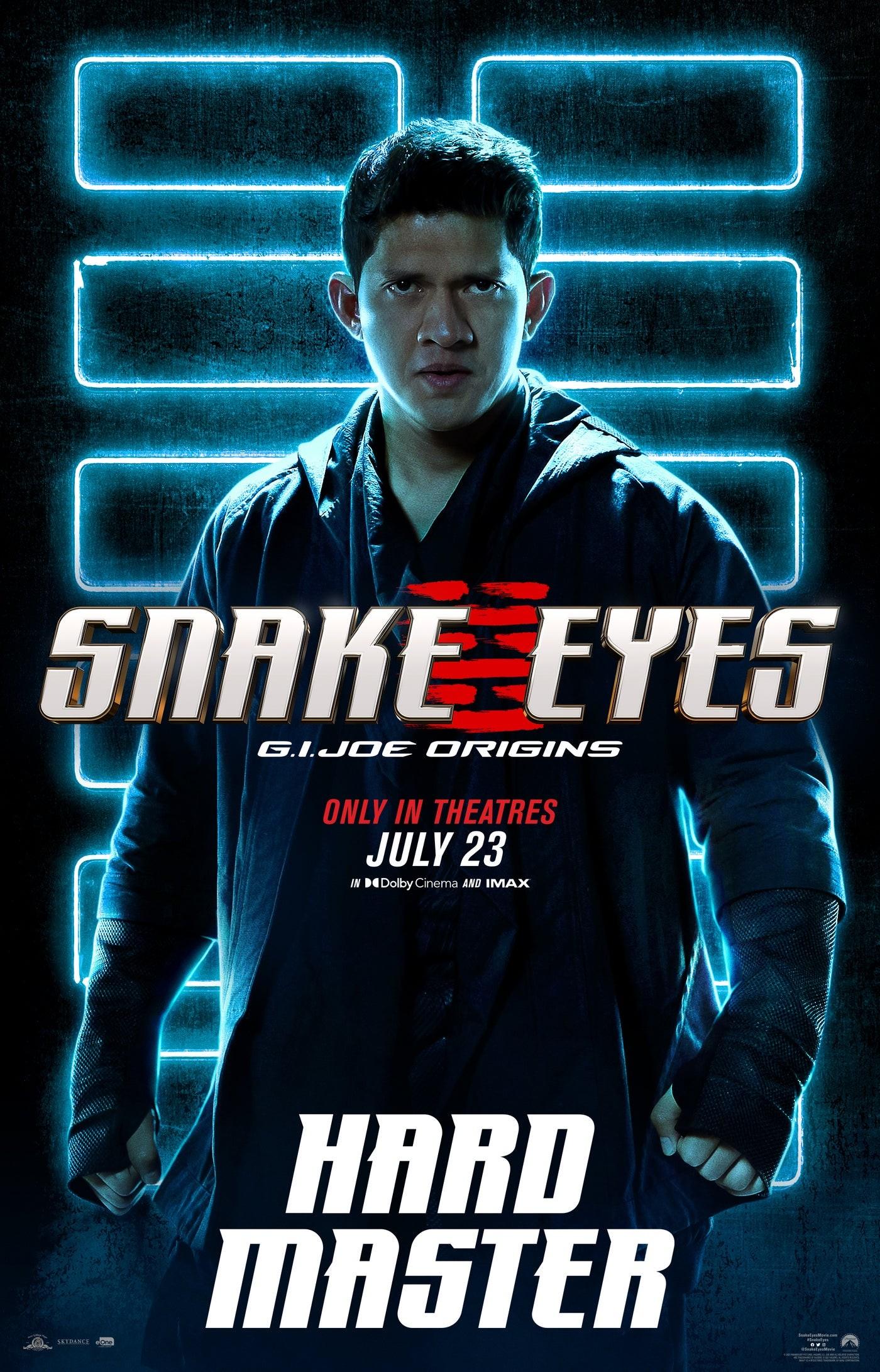 "Hard Master na plakacie ""Snake Eyes"""