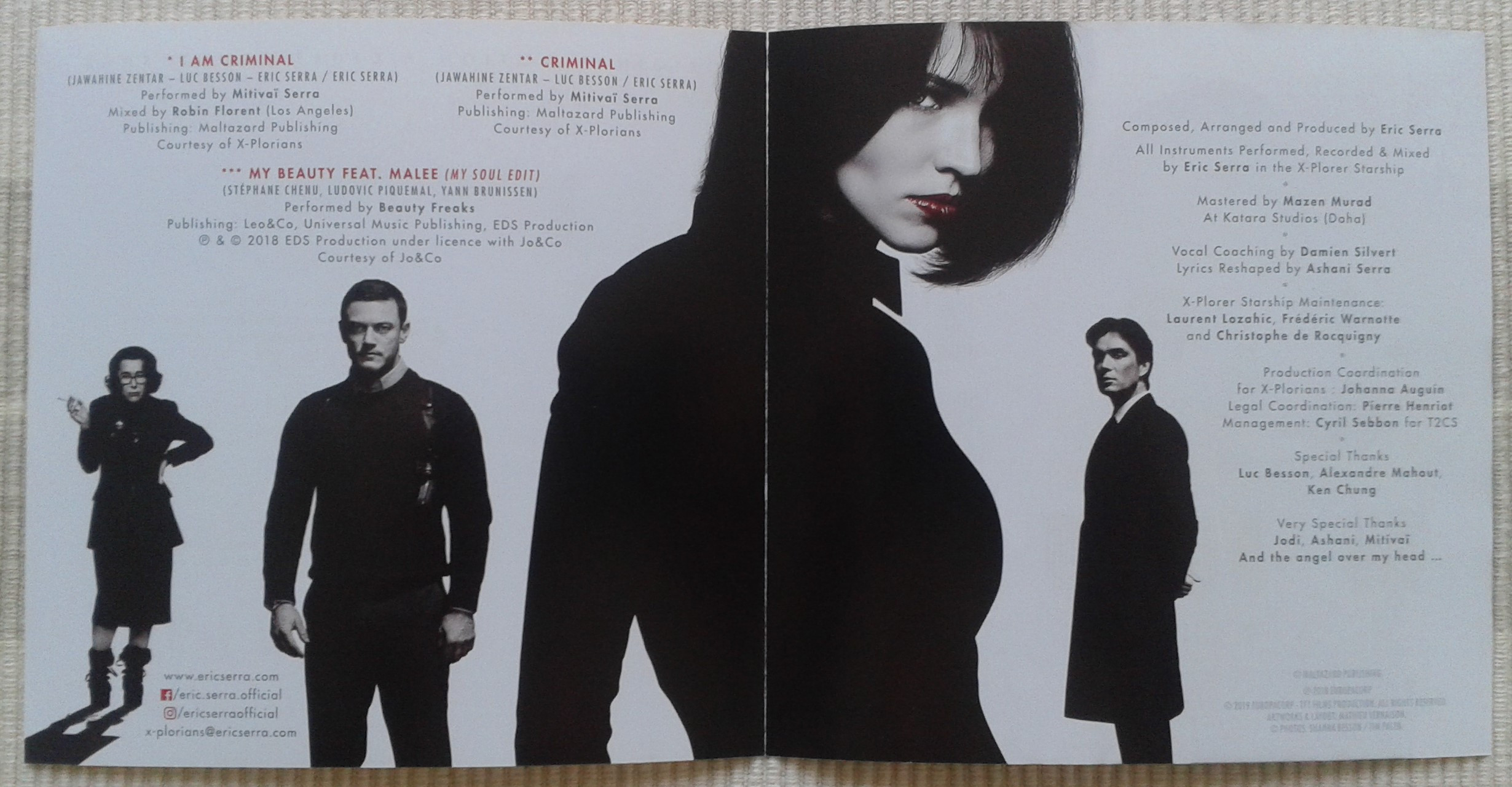 Anna - soundtrack (booklet 2)