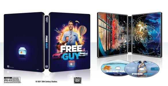 Free Guy steelbook 4K UHD