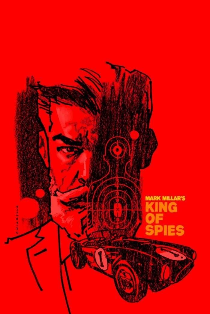 "Komiks ""King of Spies"""