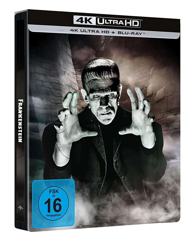 Frankenstein 4K UHD steelbook