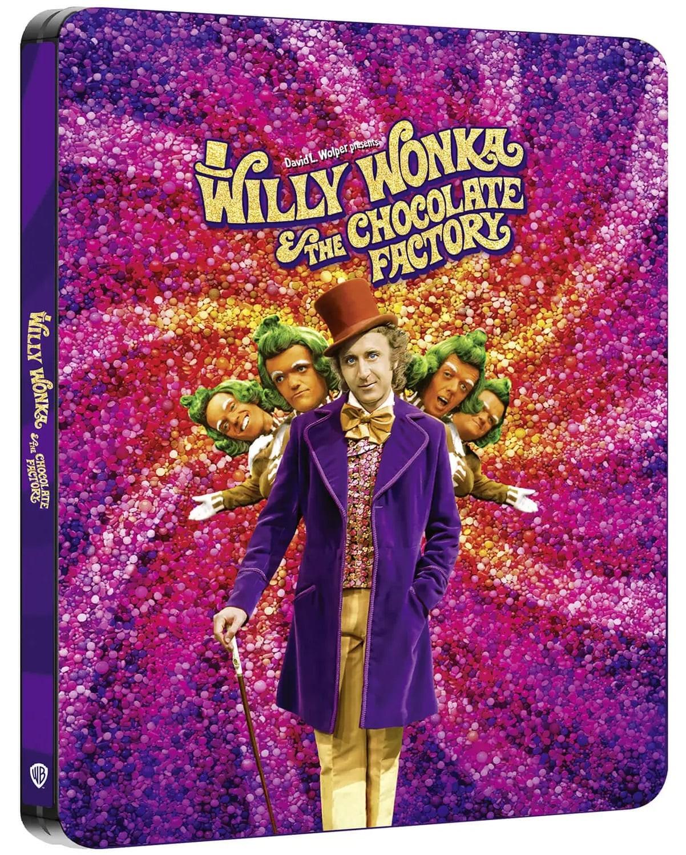Steelbook 4K UHD z filmem Willy Wonka i fabryka czekolady