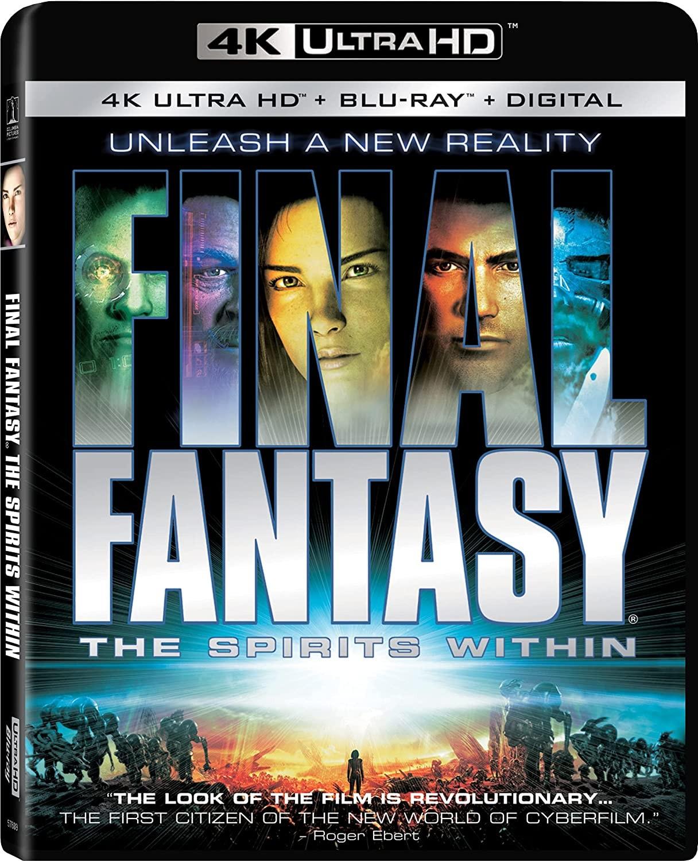 Final Fantasy: Wojna dusz wydanie 4K UHD