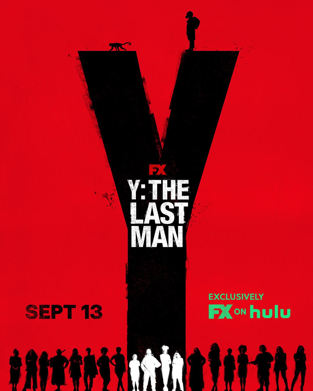 Plakat serialu Y: Ostatni z mężczyzn