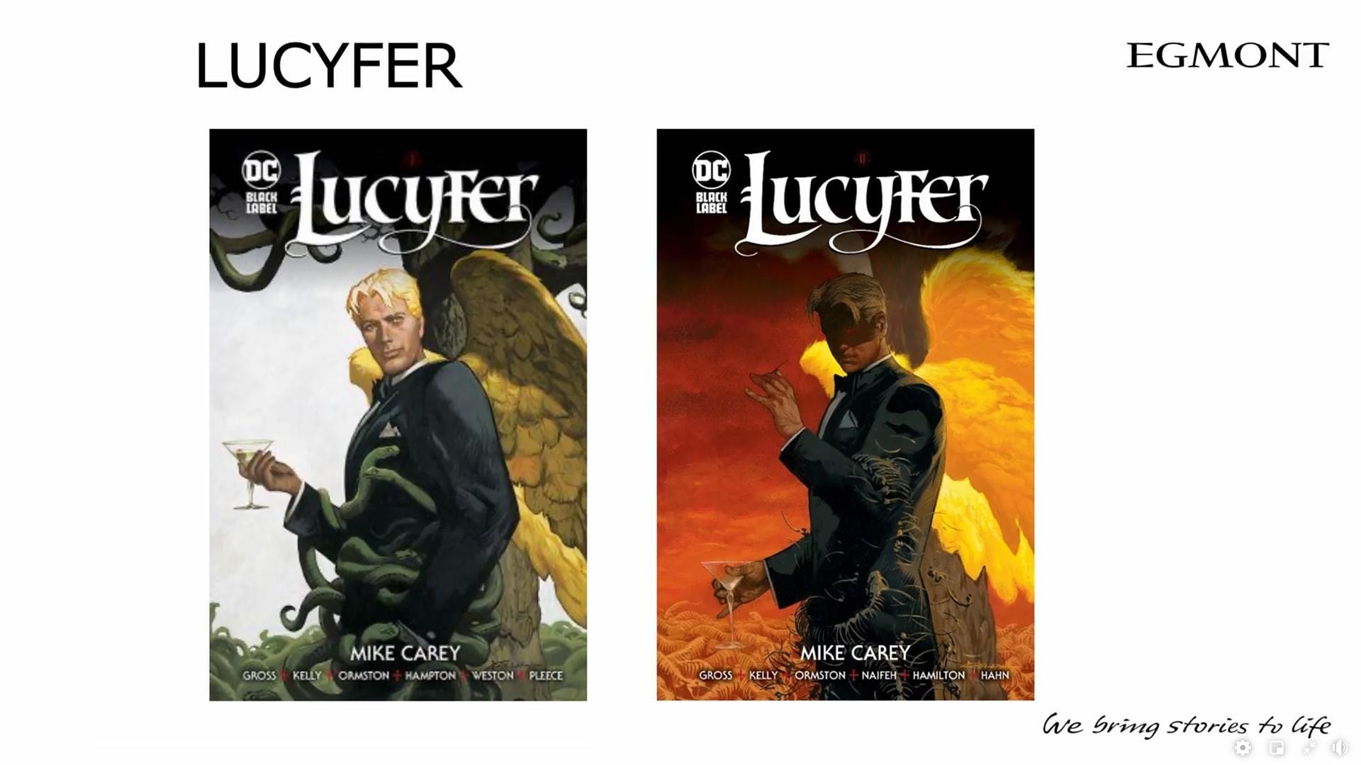 Lucyfer komiksy Egmontu na 2021 dwa tomy w 2021