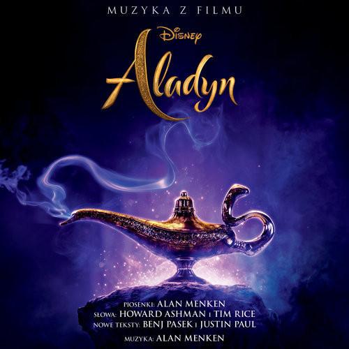 Aladyn (2019) - okładka polskiego soundtracku CD