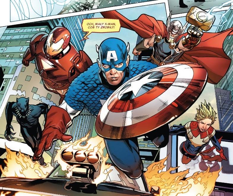 Plansza z komiksu Astonishing X-Men tom 3 Dopóki starczy tchu