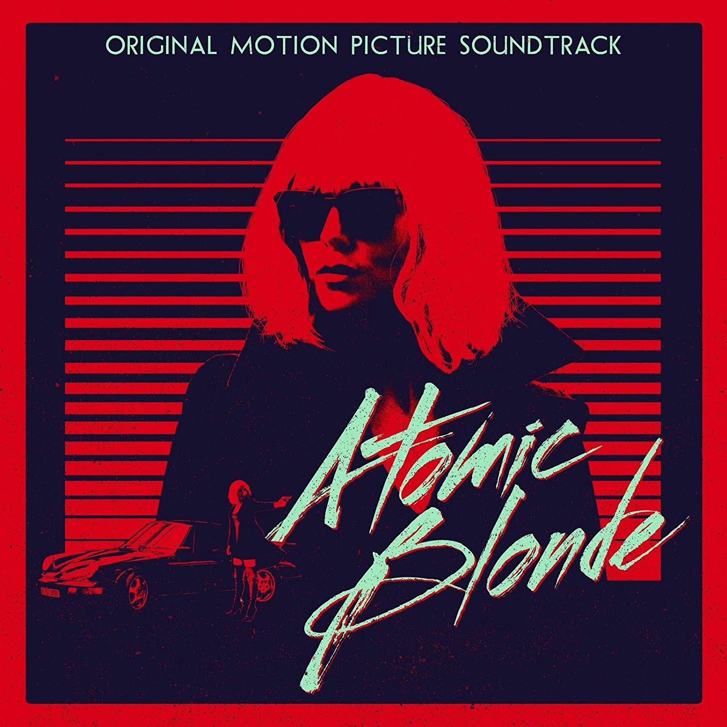 Atomic Blonde - okładka soundtracku CD