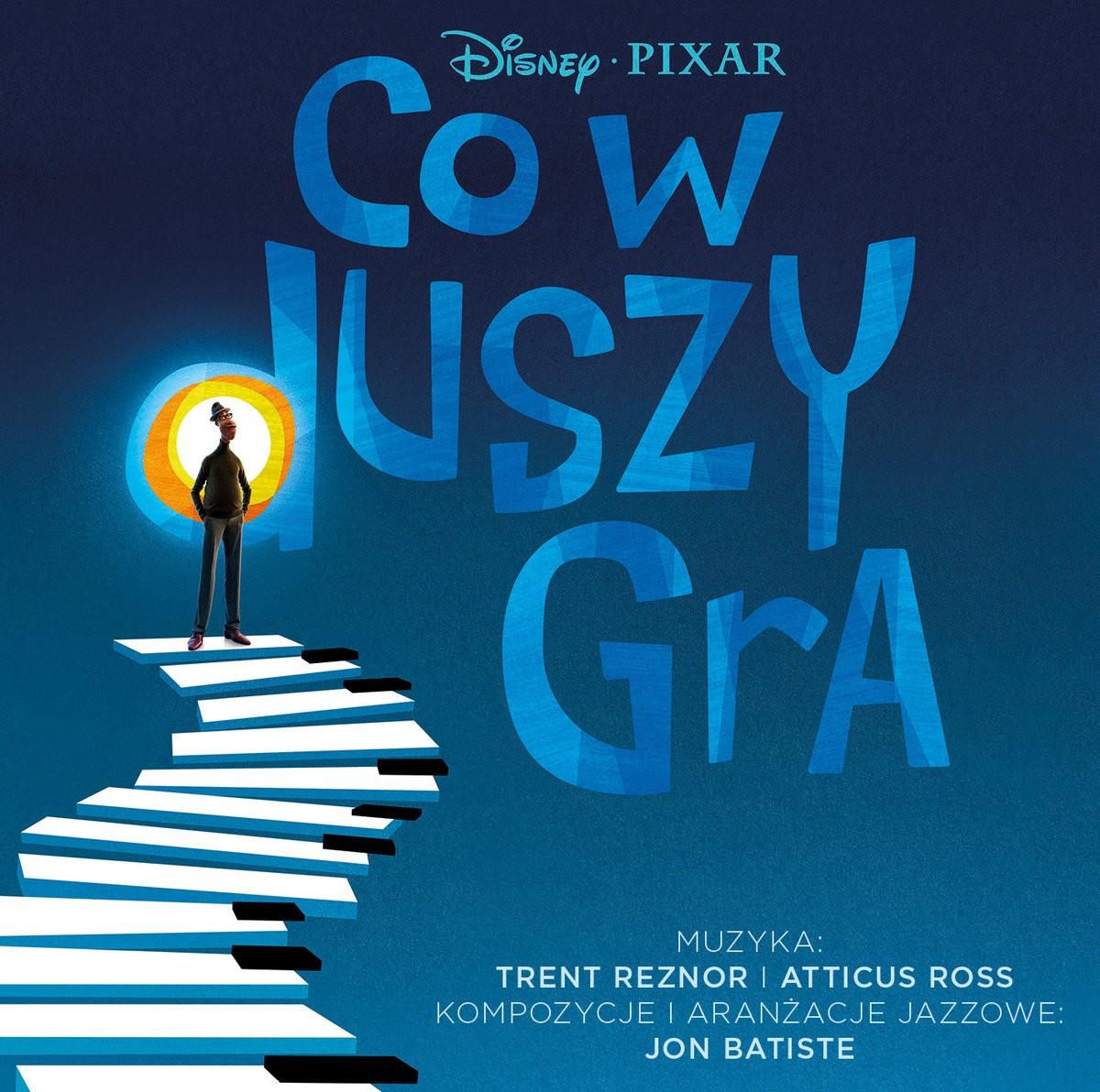 Co w duszy gra - okładka polskiego wydania soundtracku CD