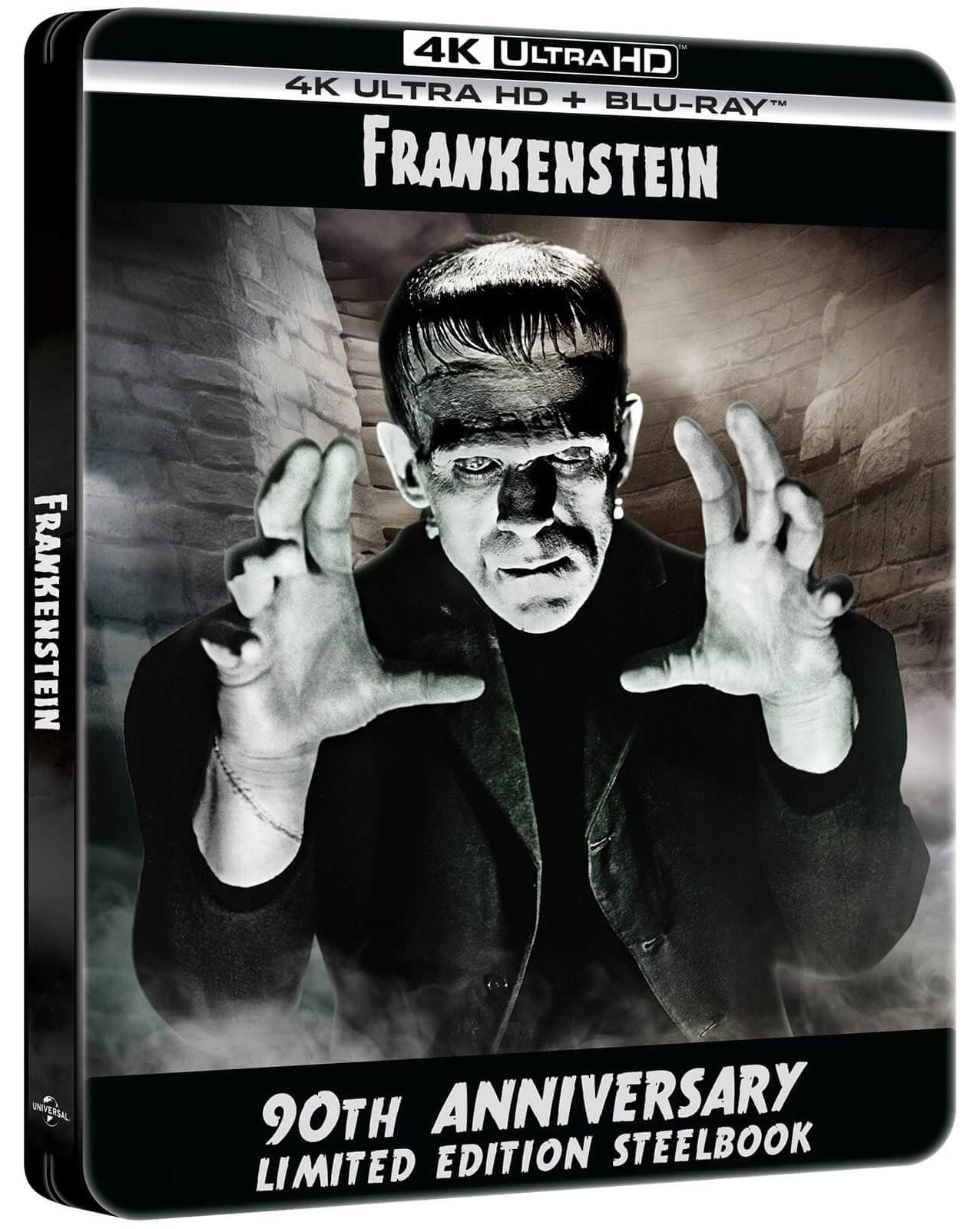 Frankenstein steelbook 4K UHD