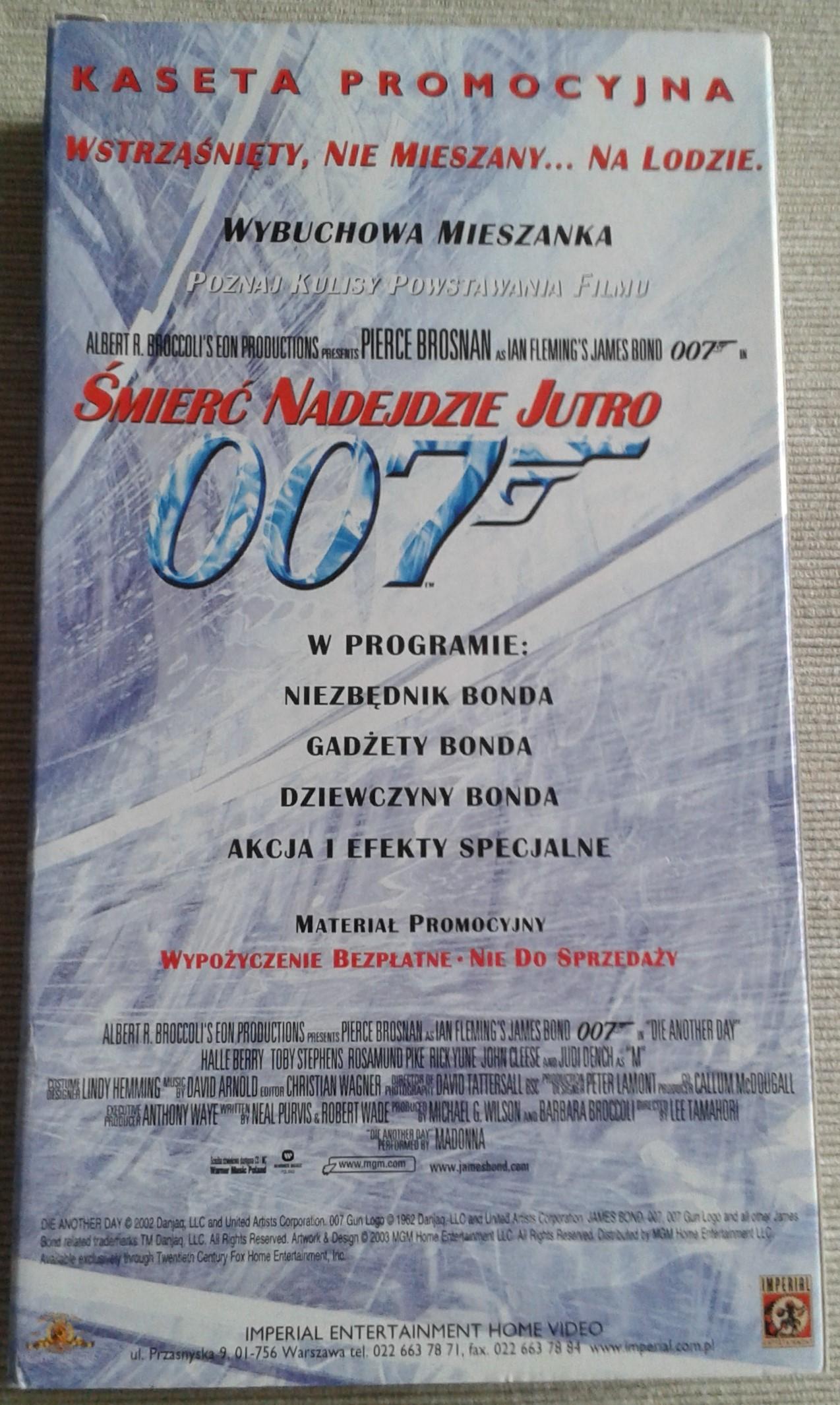 Śmierć nadejdzie jutro - kaseta promocyjna (Imperial, 2003)