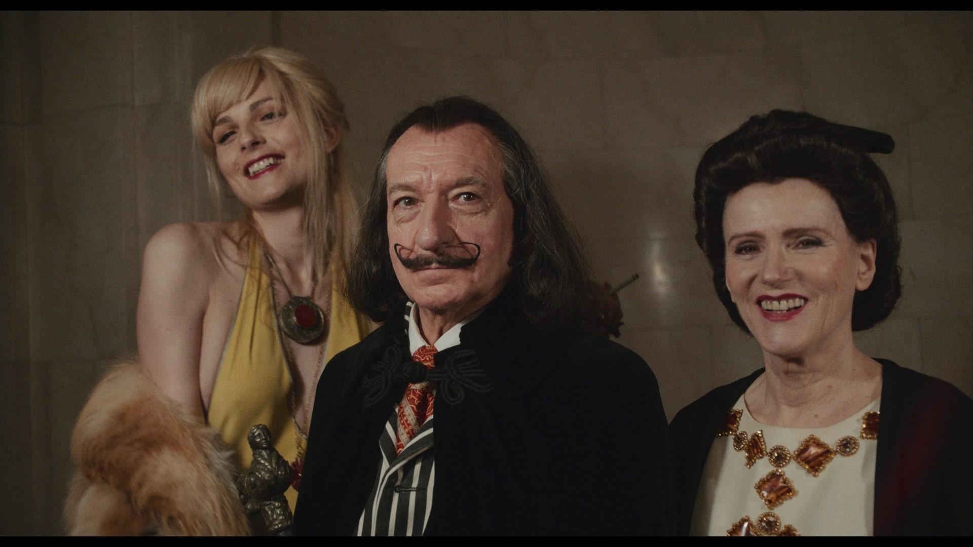 "Ben Kingsley jako Salvador Dalí w filmie ""Dalíland"""
