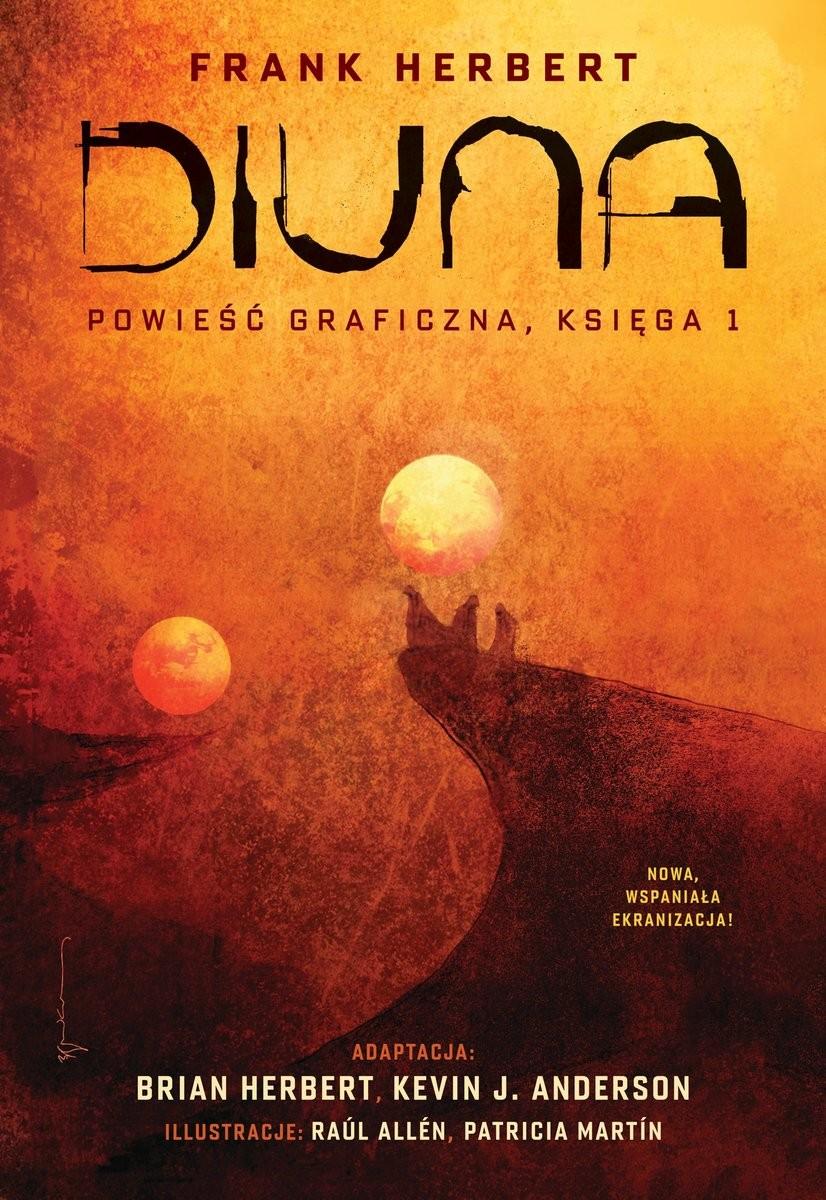Diuna powieść graficzna księga 1 okładka