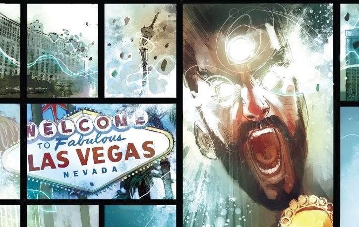 Doktor Strange tom 4 plansza z komiksu