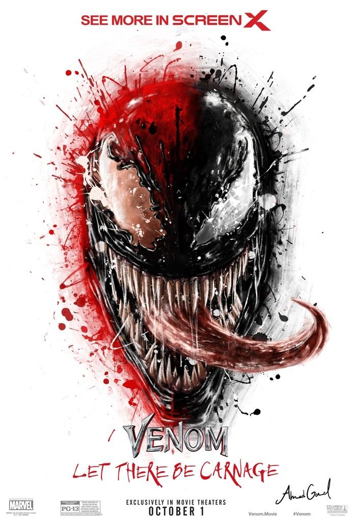 Venom 2 Carnage plakat