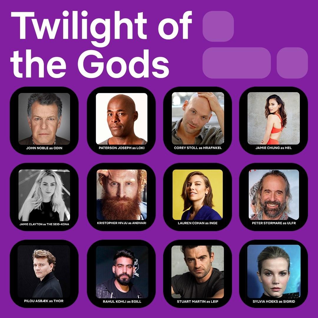 Obsada Twilight of the Gods