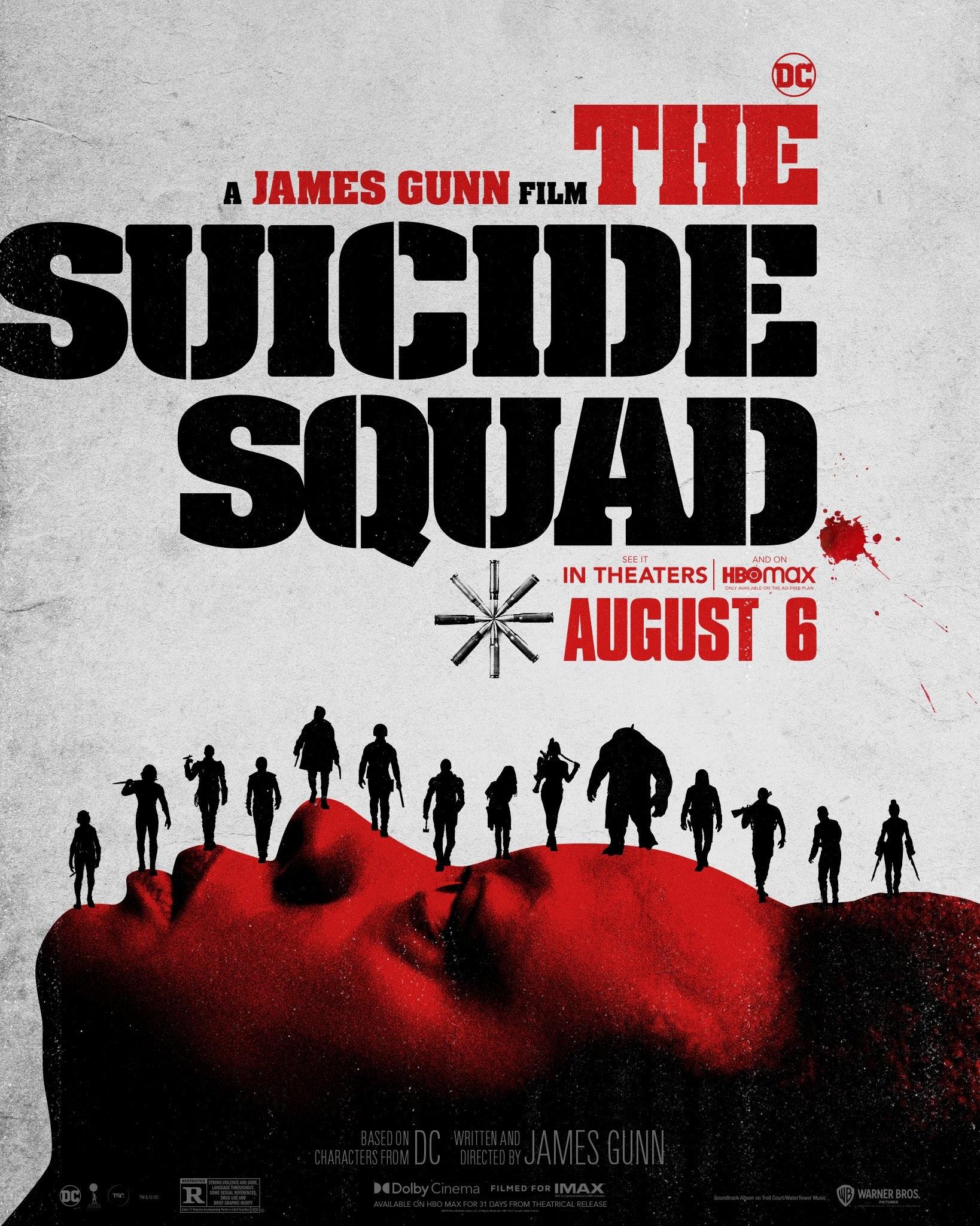 Plakat filmu Legion Samobójców