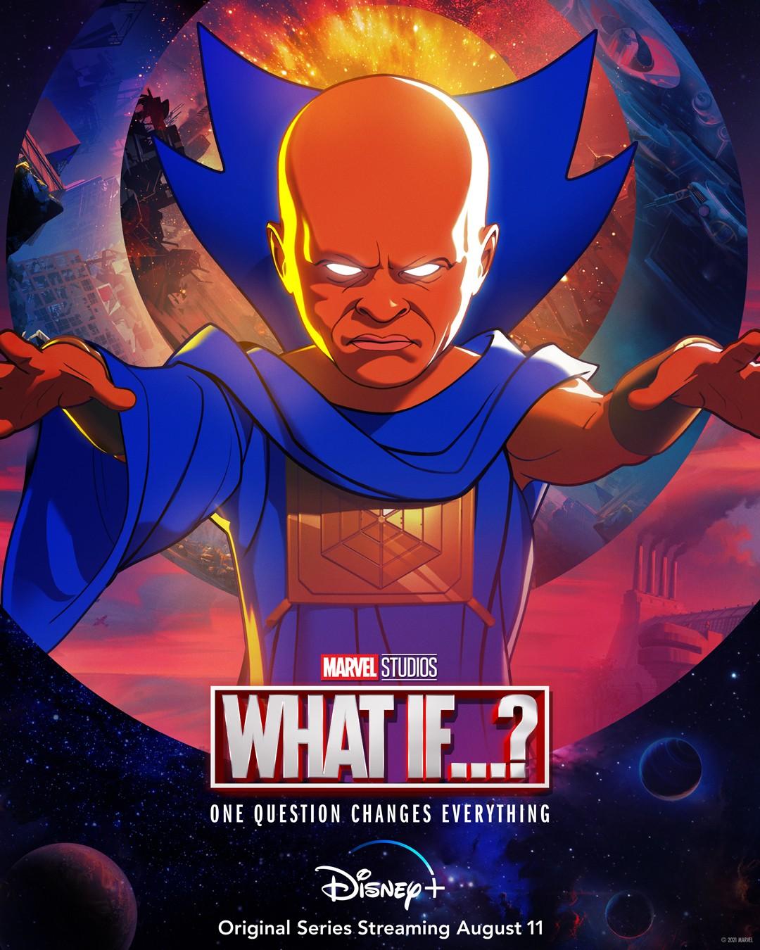 "Plakat serialu ""What If"" The Watcher"