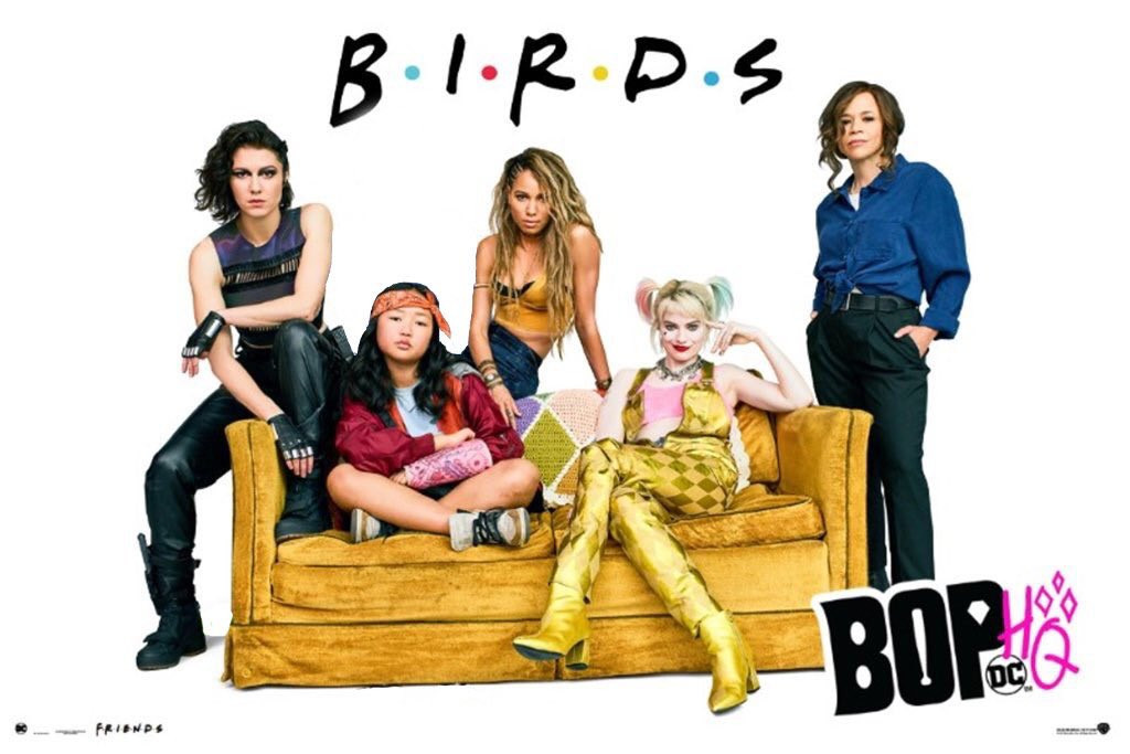 Birds of Prey jako Friends