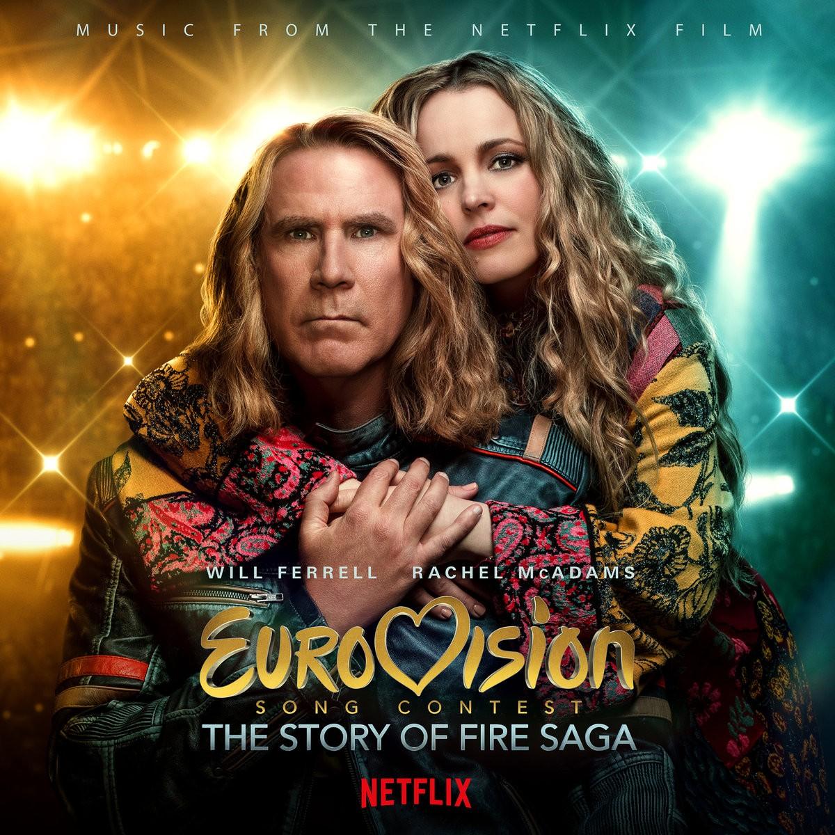 Eurovision Song Contest - okładka soundtracku CD (front)