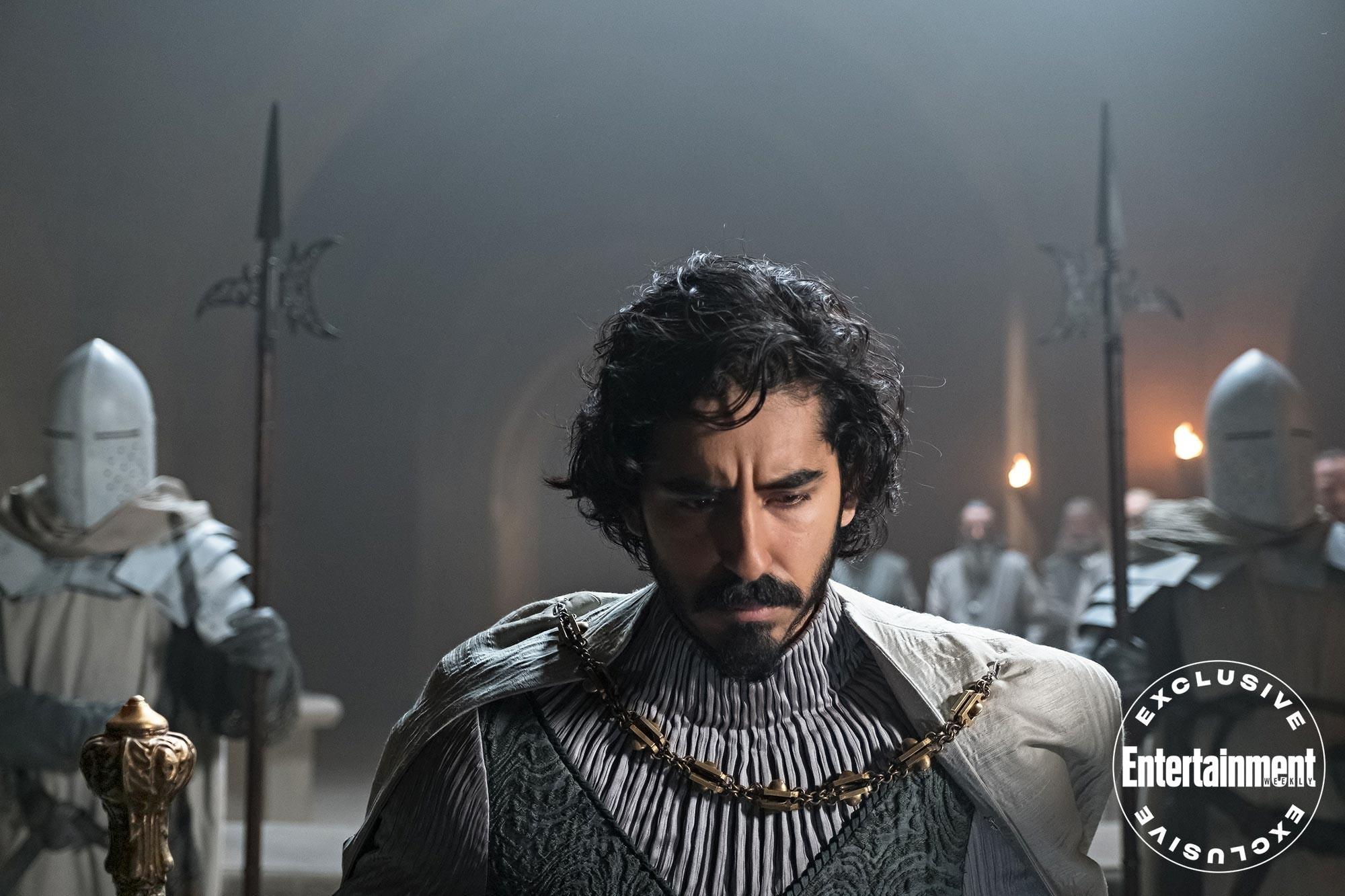 "Dev Patel w filmie ""The Green Knight"""