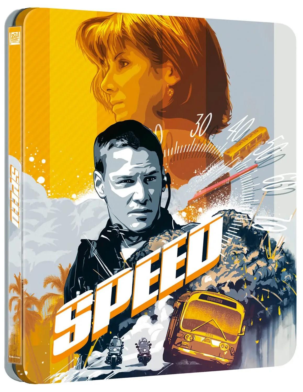 """Steelbook 4K UHD z filmem """"Speed: Niebezpieczna prędkość"""""""