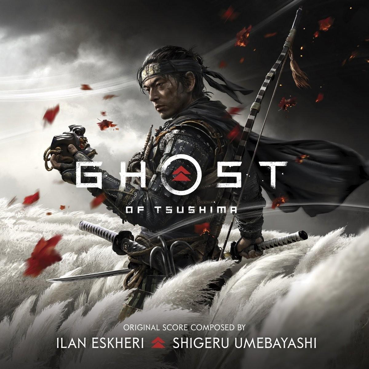 Ghost of Tsushima - okładka soundtracku CD (front)