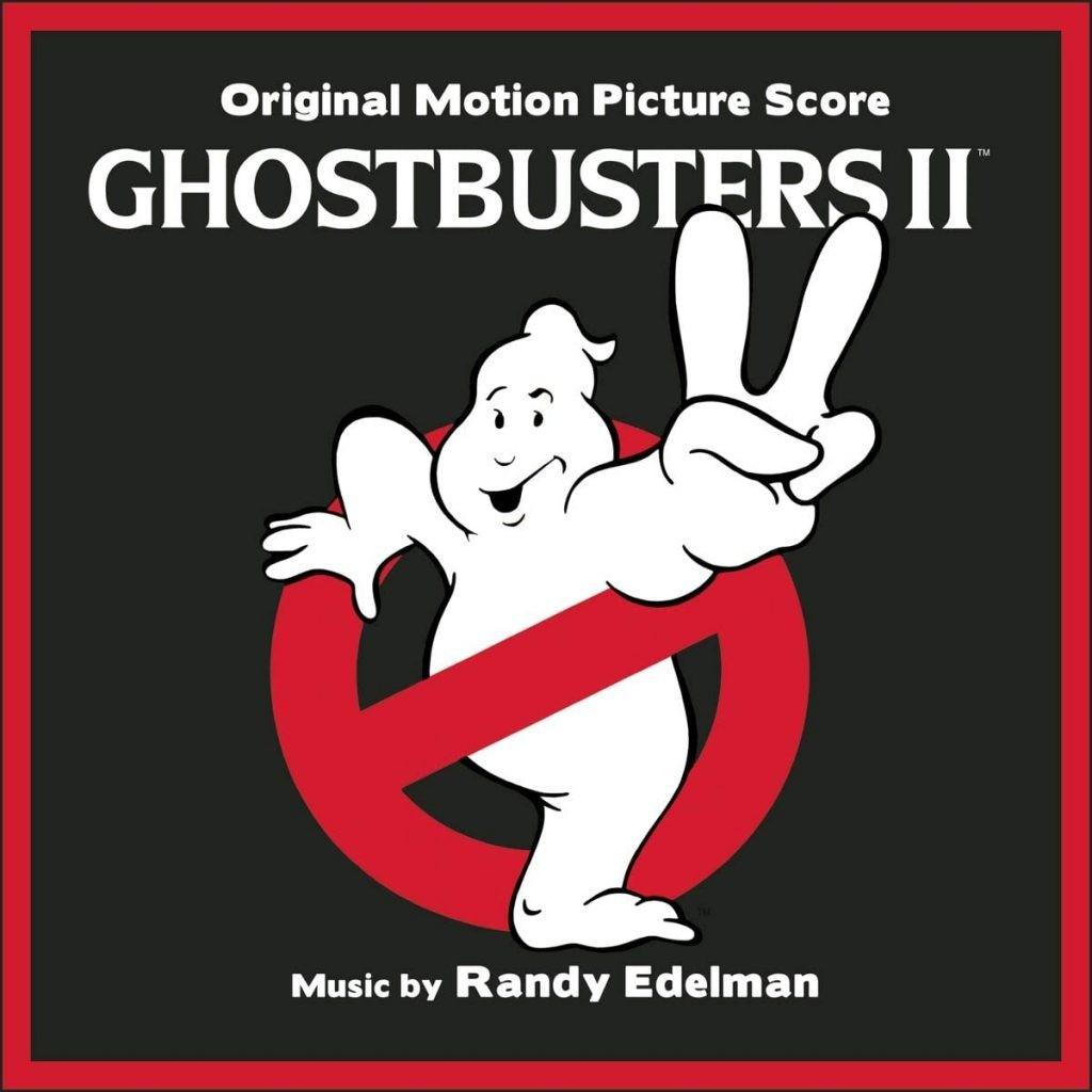 Ghostbusters II - okładka soundtracku CD (front)