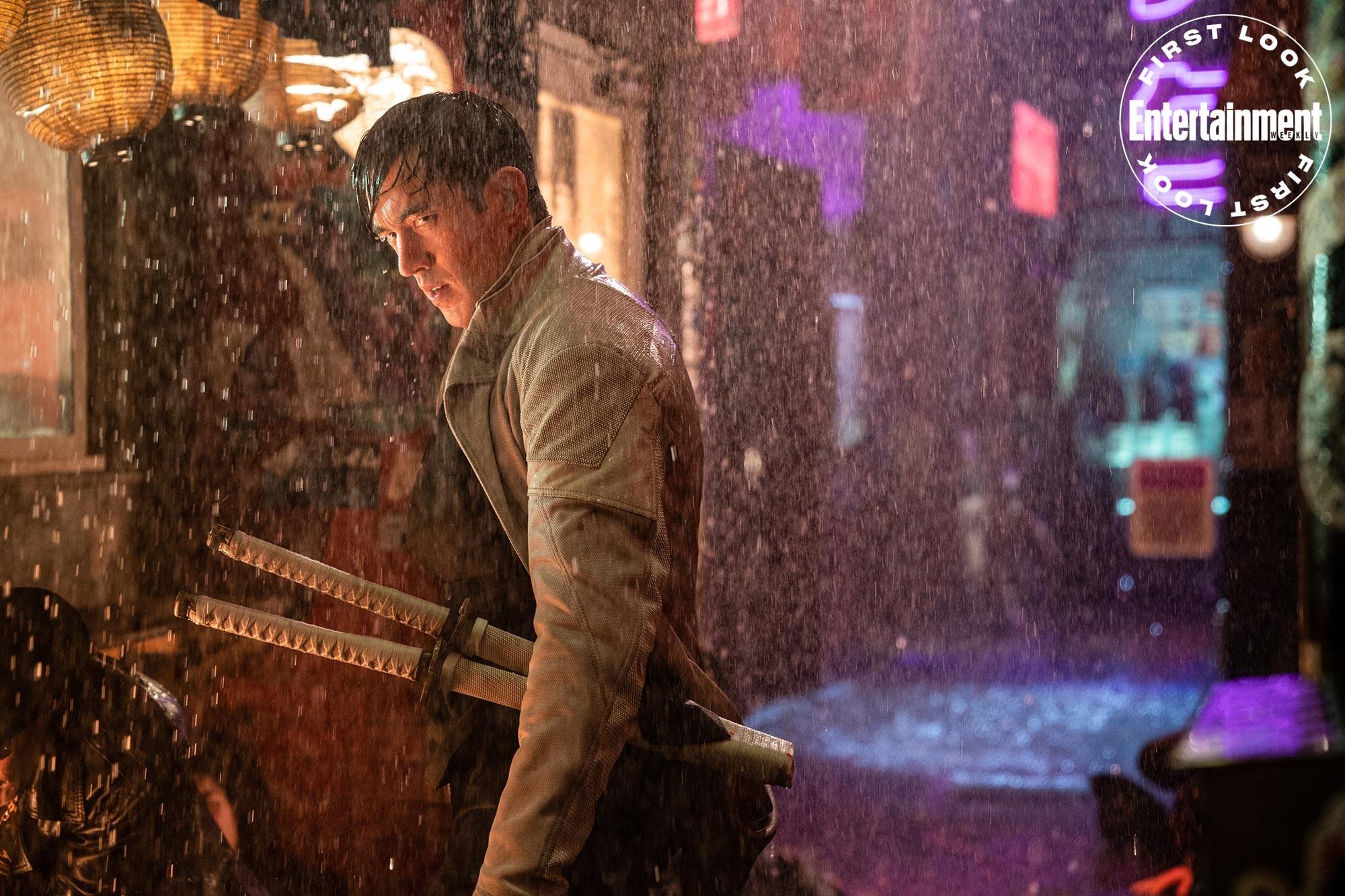 """Andrew Koji jako Storm Shadow w filmie """"Snake Eyes"""""""